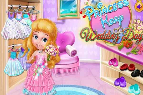 Play Princess Kory Wedding Shop