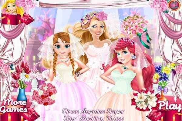 Play Gloss Angeles Super Star Wedding Dress