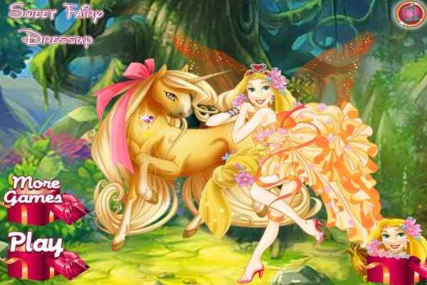 Play Sweet Fairy Dressup