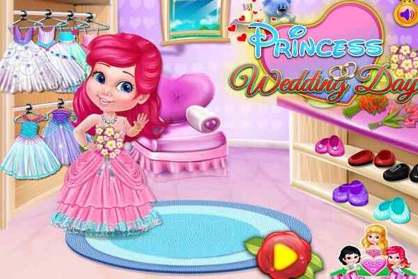 Play Princess Wedding Dress